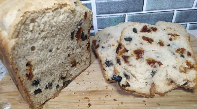 pan mediterráneo sin gluten con panificadora del lidl