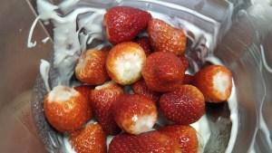 petit suisse de fresa casero receta