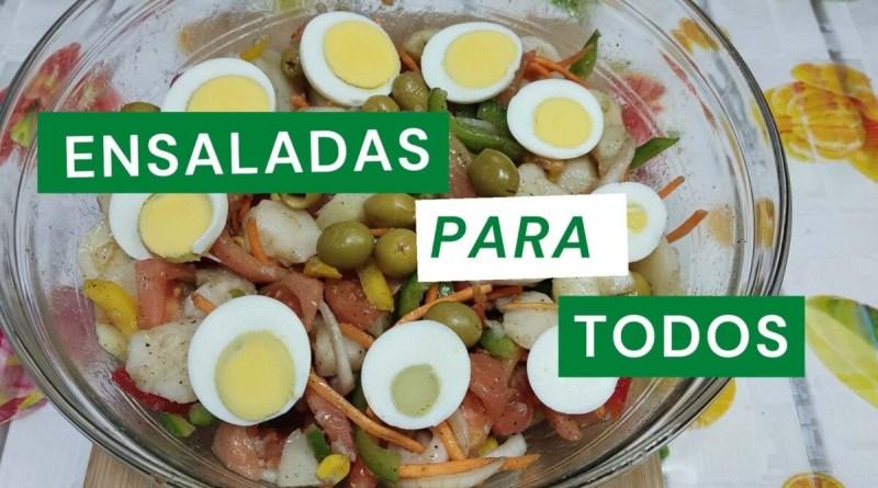 ensaladas para todos