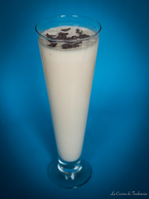 milkshake de chocolate blanco