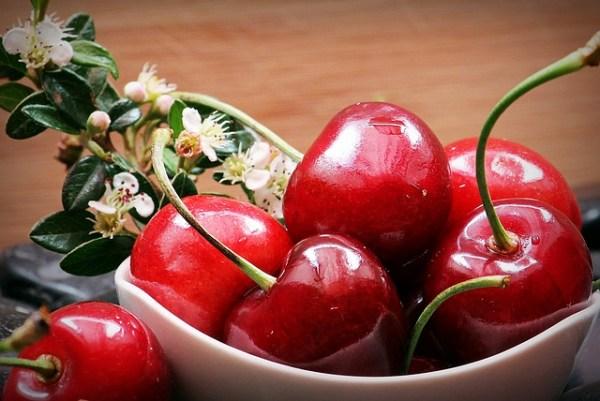 Sorbete de cerezas