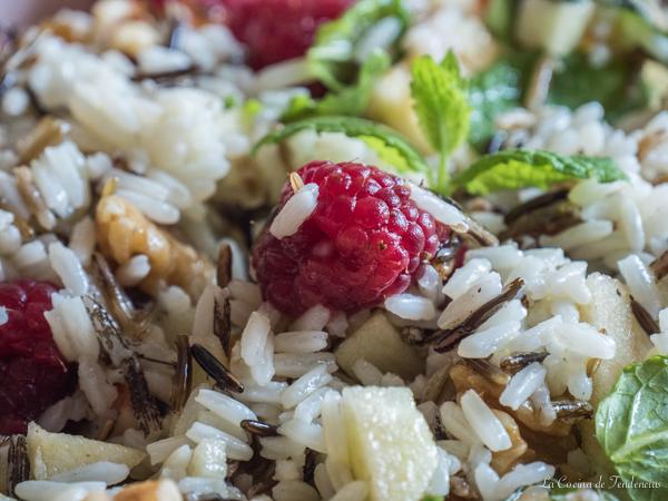 Ensalada de arroz salvaje la cocina de tendencias - Ensalada de arroz light ...
