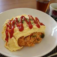 Omurice (arroz con tortilla) es un tipo de yousyoku