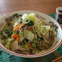 ¿Qué guarnición lleva el Ramen? ‐Nº2 verduras
