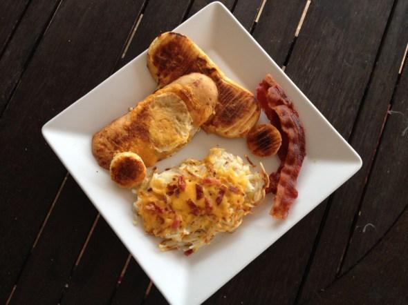 Hobbit hole breakfast