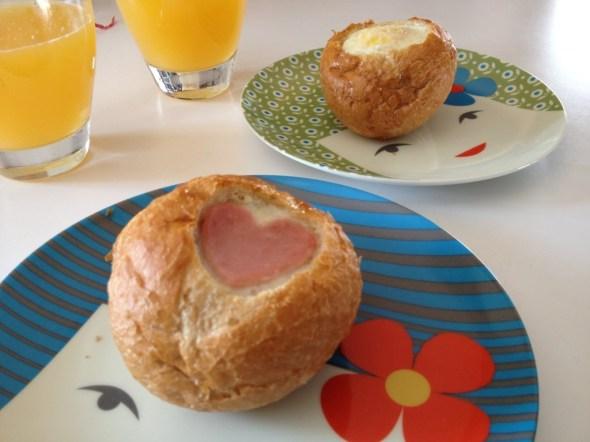 nidos de amor para el desayuno