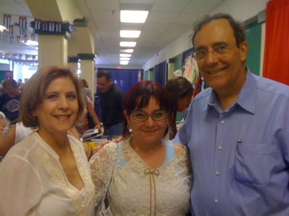 Con Carlos Alberto Montaner