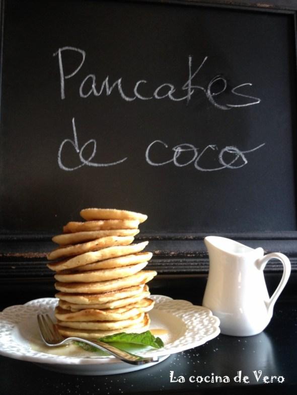 Pancakes de coco - La cocina de Vero