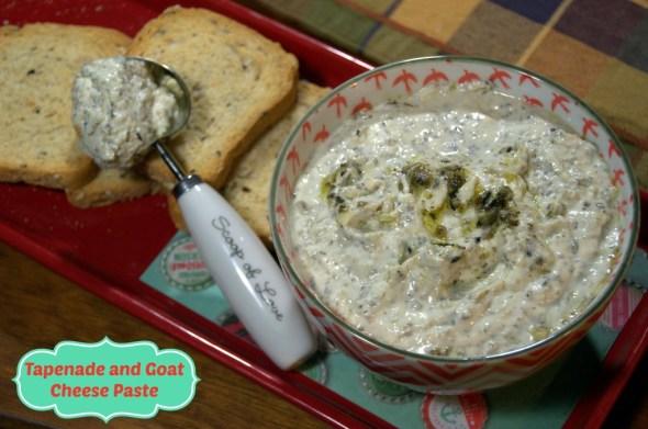 Tapenade and Goat Cheese Paste - La cocina de Vero