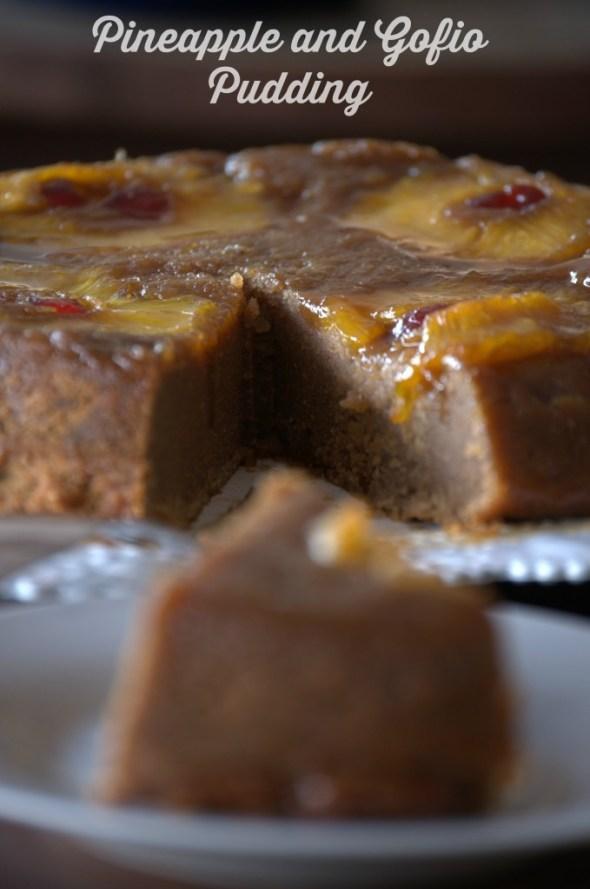 Pineapple and Gofio Pudding - La cocina de Vero