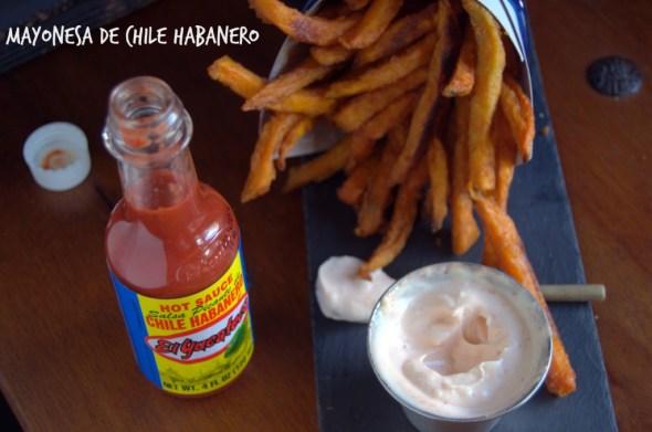Disfruta estos boniatos fritos con una mayonesa picante y llena de sabor. #Shop