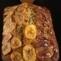 Pan de plátano y nuez