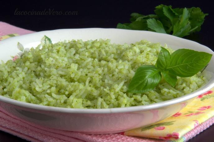 arroz a las hierbas