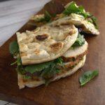 La cocina cotidiana de Vero - Sándwich de pollo y pesto