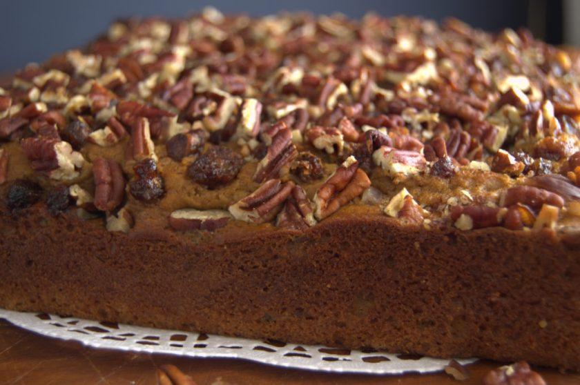 La cocina cotidiana de Vero - Cake de frijol carita