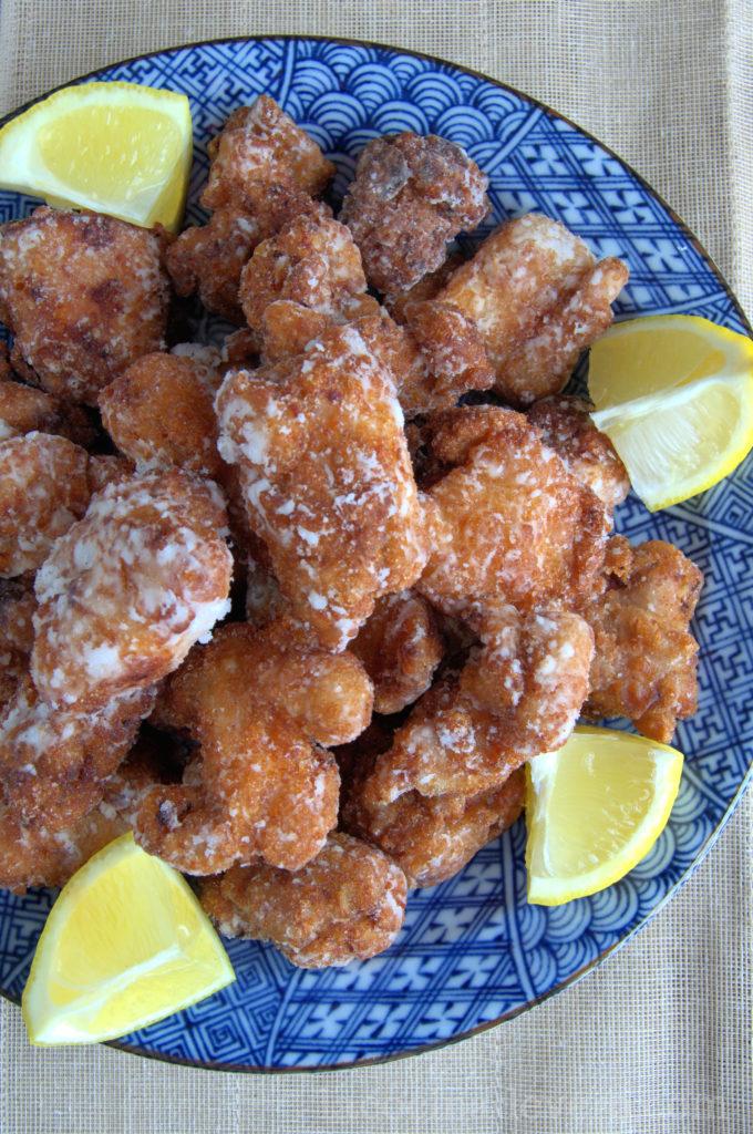 El Karaage pollo frito a la japonesa