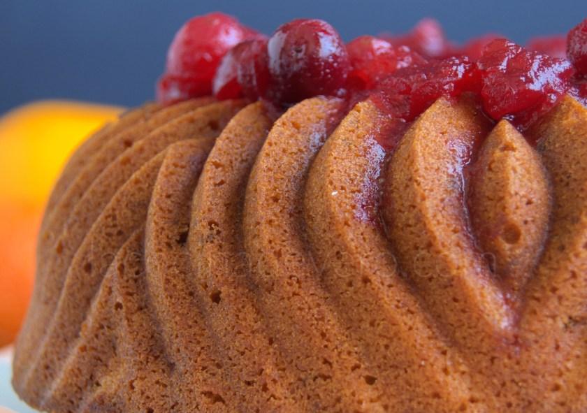 Bundt cake de mandarinas