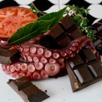 PULPO CON CHOCOLATE