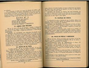 Marzo (30 Menus Practicos y Economicos) by Josefina Velázquez de León. UTSA Libraries Special Collections.