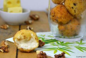 Croquetas de queso y nueces