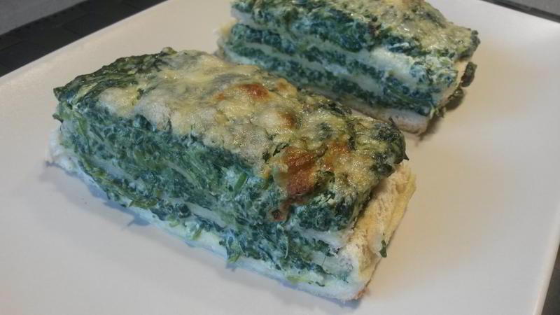 Tiramisú de espinacas - Tiramisù di spinaci