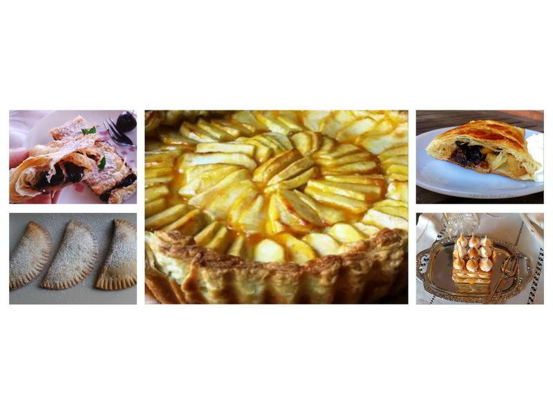 5 recetas dulces con hojaldre
