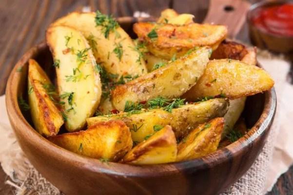 Patatas Fritas Rusticas - La Cocina Latina