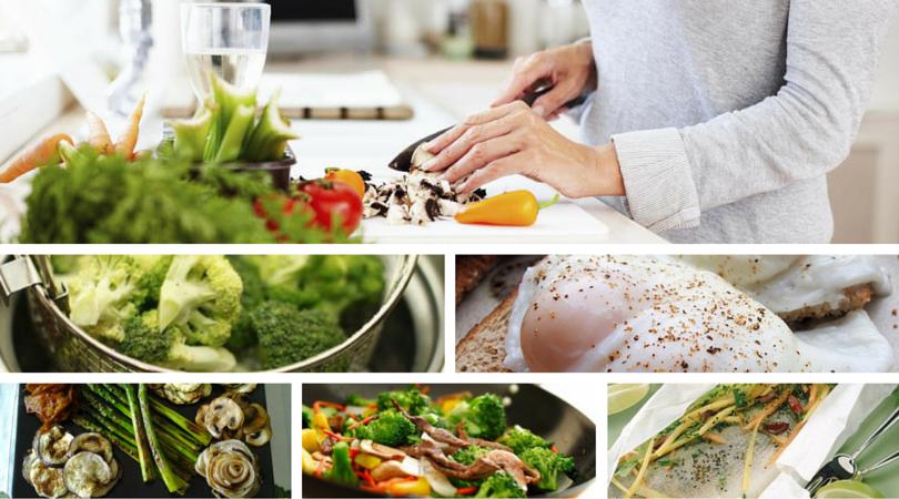 Formas de cocción saludables en la cocina ortomolecular.