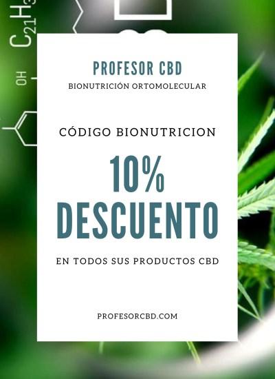10% Descuento Profesor CBD con Bionutrición Ortomolecular