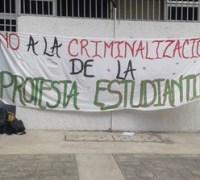 hondura no criminalizar estudiantes