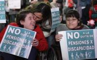 pensiones por discapacidad mujeres