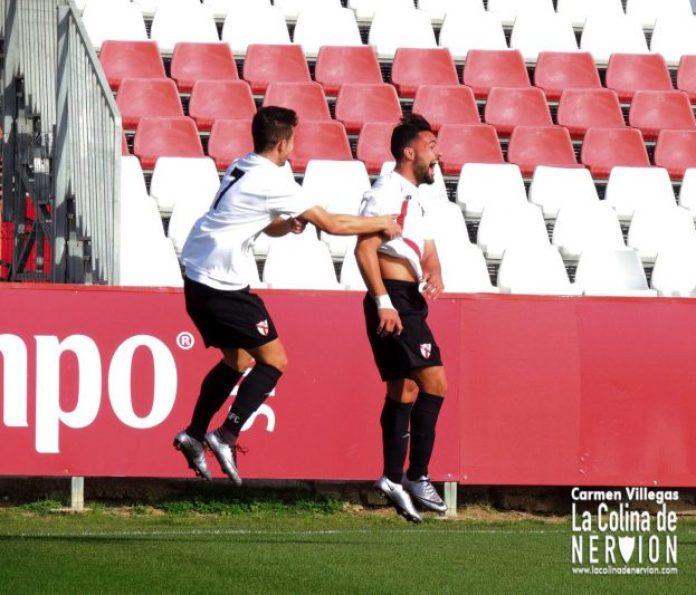 Gol de Ivi en el encuentro Sevilla Atlético 1-1 Granada B