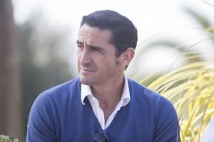 Manolo JIménez durante la entrevista |Imagen: Ismael Molina
