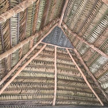 Made palapa thatch