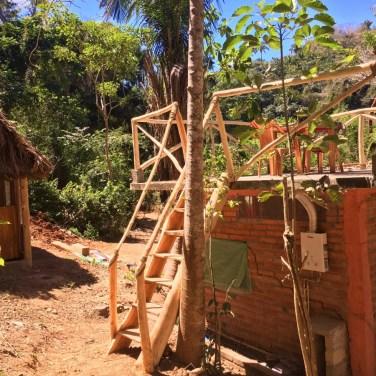 Viewing platform at the cabañas