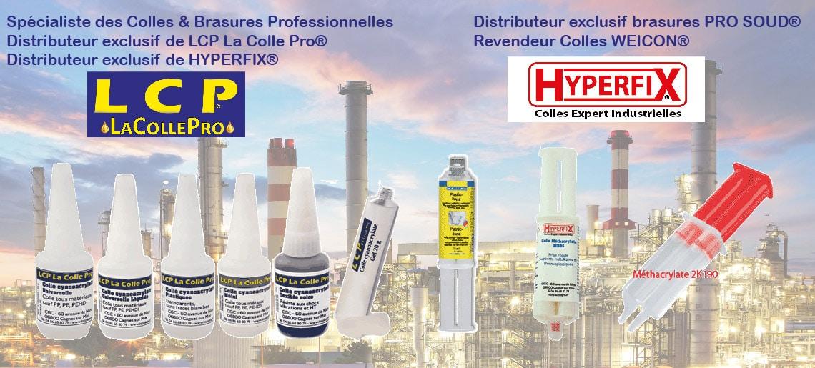Colles industrielles : cyanoacrylate, epoxy, méthacrylate et acrylique, polyuréthane