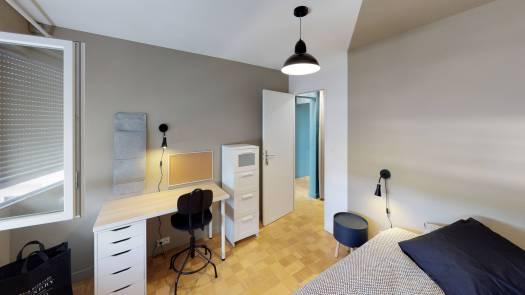 La COLOC ANGEVINE Premium - Chambre 1 02
