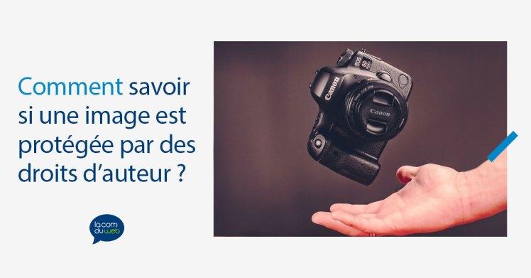 Comment savoir si une image est protégée par des droits d'auteur ?
