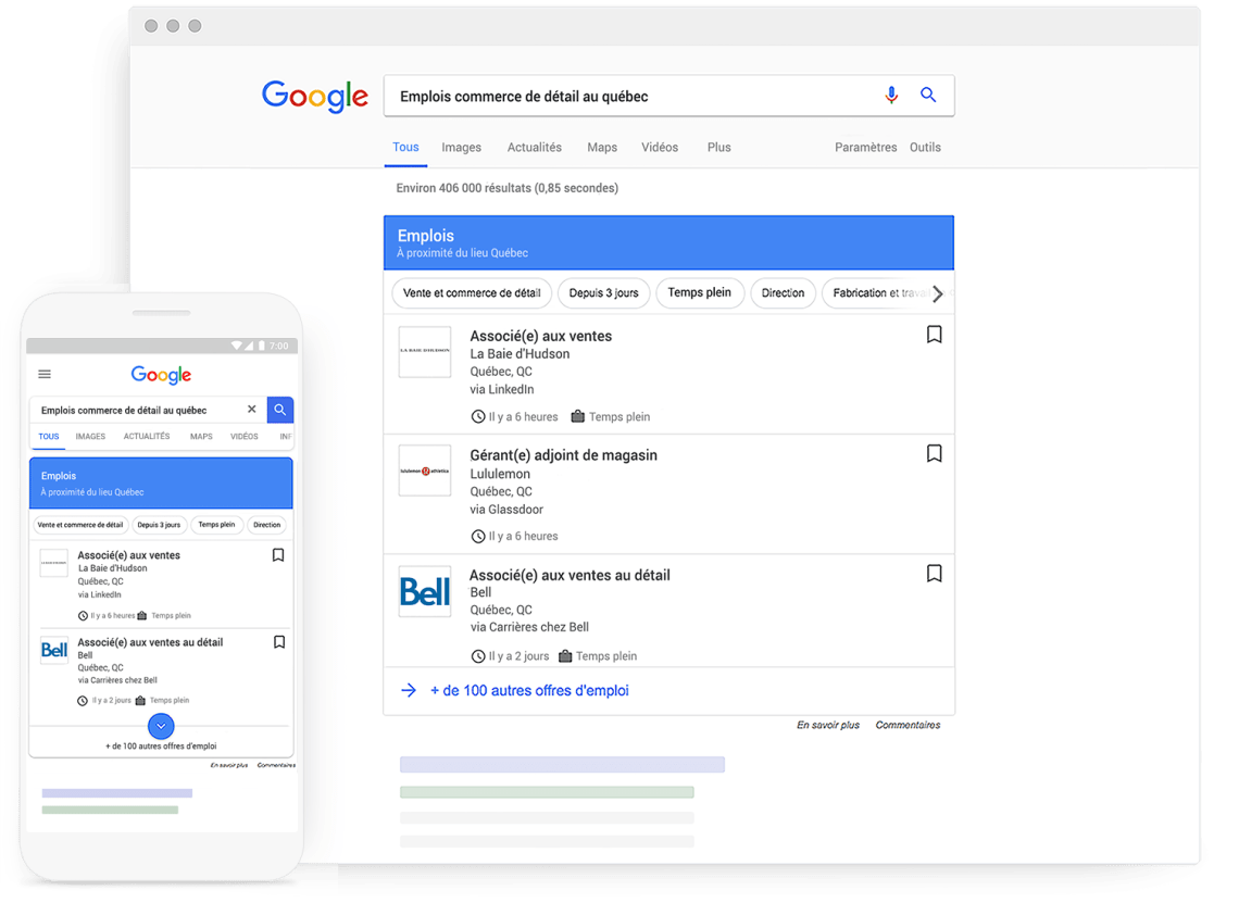 offre emploi google for jobs