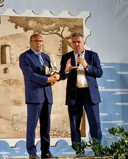 Il segretario nazionale della Cisl premiato ad Ardore. LE CONSIDERAZIONI DI LUIGI SBARRA DOPO I VIOLENTI INCENDI