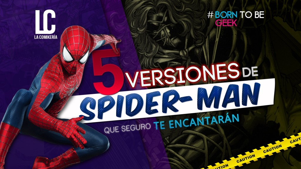 spiderman-versiones-alternas-Comikeria