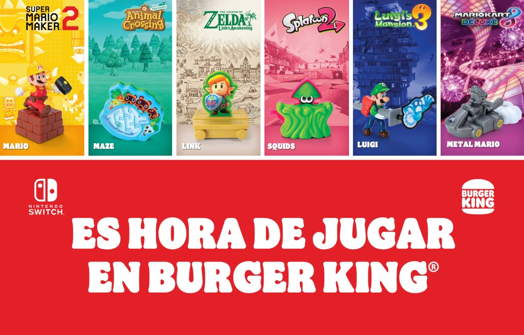 Nintendo, Burger King
