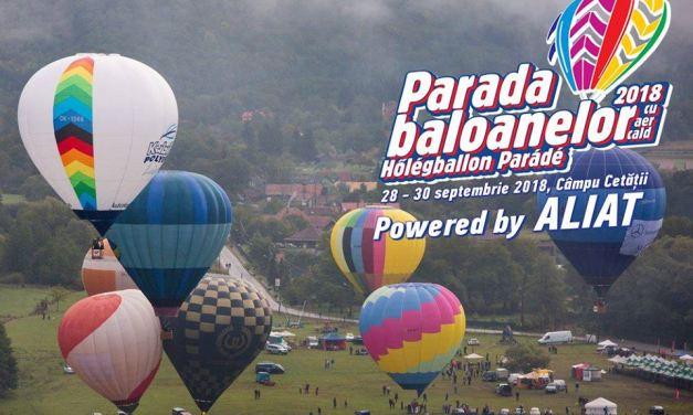 Parada Baloanelor cu Aer Cald de la Campul Cetatii