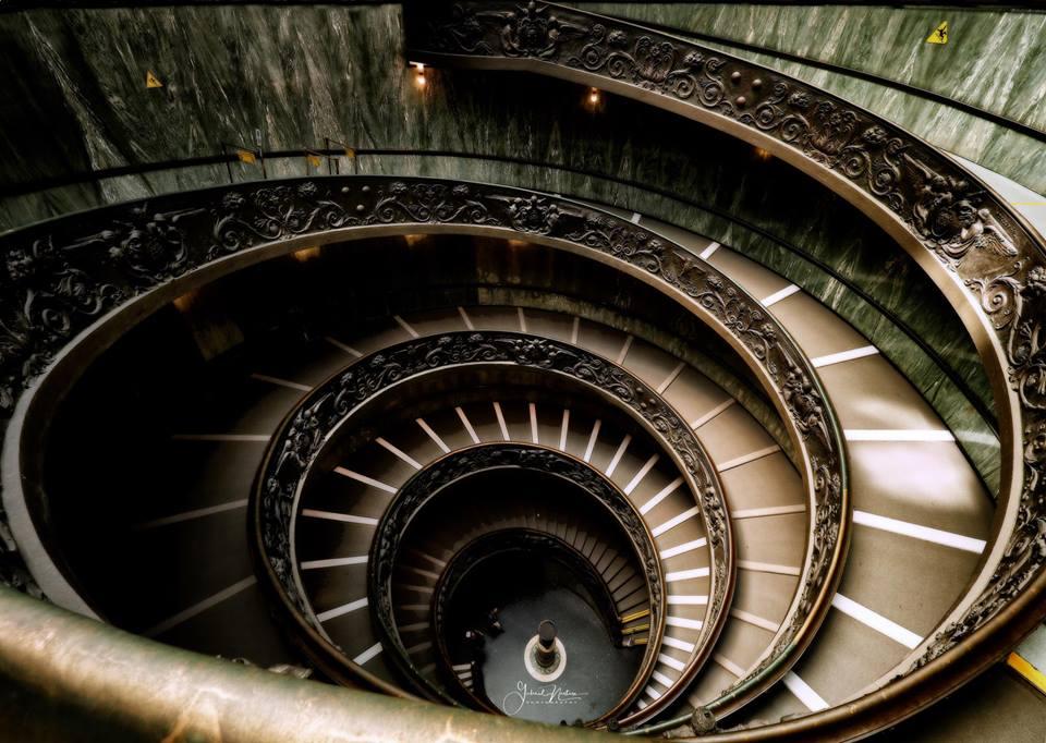 Gabriel Nastase Bramante Staircase Vatican