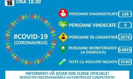 Actualizare 16 Martie  Departamentul pentru Situaţii de Urgenţă