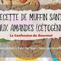 Recette de muffins santé aux amandes (cétogène)