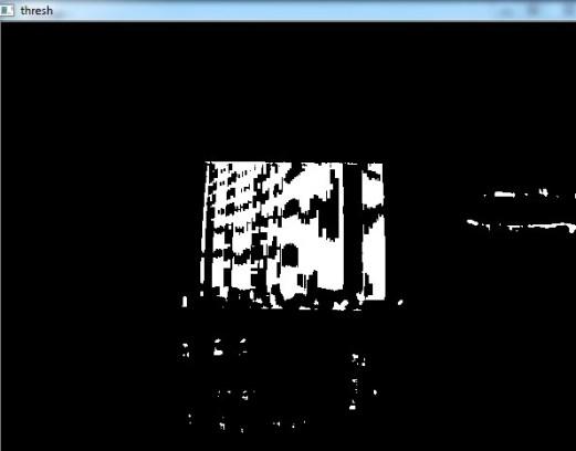 Barcode Detection Image 6: Threshold Image