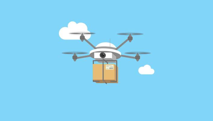 Python's drone libraries to defeat coronavirus disease