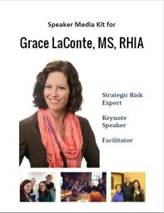 Strategic risk, professional speaker, keynote, facilitator, organizational change