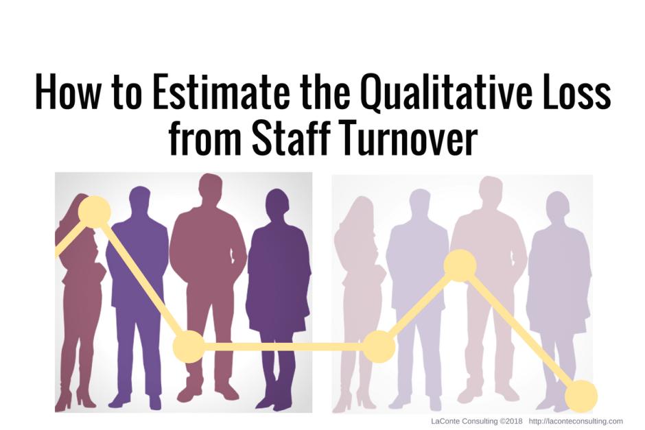 estimate, quality, qualitative, qualitative loss, risk management, staff turnover, layoffs, resignation, strategic risk